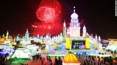 Celebrate Christmas or New Year's Day at the Harbin International Ice and Snow Festival in Harbin