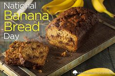 Get baking! #NationalBananaBreadDay Share your favorite recipes with us or check our blog http://owl.li/HeIW309cjEM #creditunionrecipes #tips