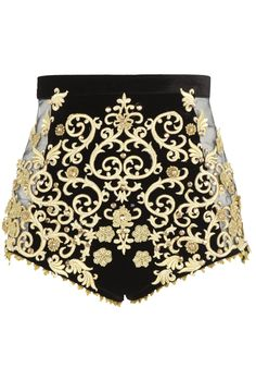 DIY Inspiration: Baroque shorts