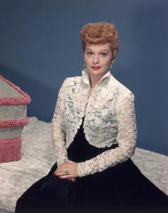 Lucy popularized the poodle cut, which gave women with curly hair a style advantage, and her strawberry blond style is still instantly recognizable. 1950s hair.