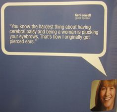 Geri Jewell-Comedian with CP