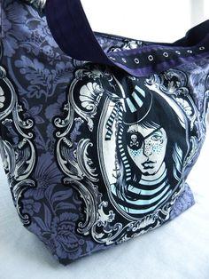 The Roxie Bag Custom Slouch Hobo Bag by BrookeVanGoryDesigns, $44.99