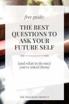 Access your future self and you'll gain instant clarity about what to do RIGHT NOW to become her. She knows more than you think!  #futureself #journalingprompts #journalingquestions #writingprompts