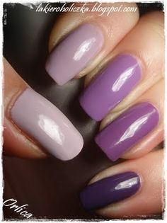 Great ombre manicure
