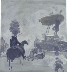 Ruprecht von Kaufmann - Charite (Radiologie) Gouache on Mylar 39,5 x 57 cm, 2009   Ruprecht von Kaufmann   Pinterest   Gouache