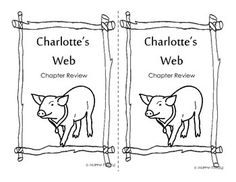 This is a chapter by chapter study of the famous book Charlotte's Web. Each chapter has a question and answer page, words to know, and two different parts of the story maps to choose from. One is a blank one where students are required to write the parts of the story in themselves and the other has been typed out for you so that you can cut and paste them. 46 pages total.