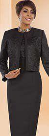 Ben Marc Executive 11644 Jacket & Dress Suit With Textured Design