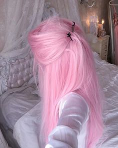 Pastel pink hair, hair color pink, new hair colors, color your hair, Pastel Pink Hair, Hair Color Pink, Hair Dye Colors, Cool Hair Color, Pastel Blonde, Lilac Hair, Dyed Hair Pink, Pink Hair Streaks, Bright Pink Hair