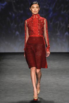 Vivienne Tam Fall 2014 Ready-to-Wear Fashion Show
