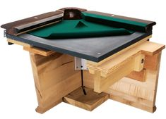 Olhausen Billiards uses premium slate, a slate liner, a uniliner, accu-fast cushions and premium wood in the construction of each pool table. Diy Pool Table, Custom Pool Tables, Pool Table Dining Table, Pool Table Room, Billiard Pool Table, Diy Table, Billard Bar, Billard Table, Game Room Furniture