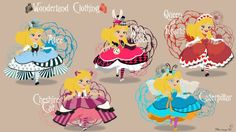 Alice in Sofia Princess version with different clothes based on the universe of Wonderland. For these creations, several ideas rethink and saw right and. No-Disney Young Princess ~ Alice (Clothing) Disney Fan Art, Disney Love, Disney Magic, Disney Stuff, Non Disney Princesses, Disney Princess Dresses, Disney Characters, Disney Animation, Disney And Dreamworks