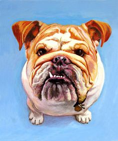 'Bully'  Acrylic on Canvas  Commossion