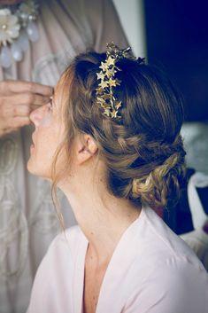 tocado novia dorado1