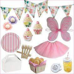 Fairy Birthday Party Party supplies viablossom