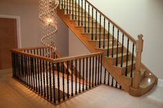 Fantastic Landings with Iron Balusters