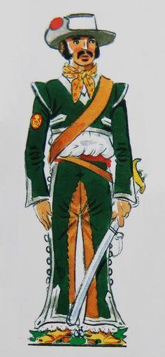 Voluntarios de Sierra Gorda 1800-20 Nueva España