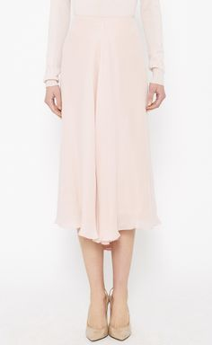 The Row Pink Skirt//