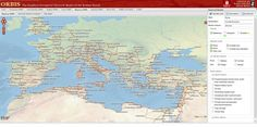 Mapa interactivo viajar Imperio Romano