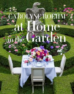 In this exquisitely lush volume, lifestyle legend Carolyne Roehm celebrates her gardens as outdoor living rooms, revealing how she chooses the plants, flowers, and layouts; how she entertains guests w Interior Design Books, Book Design, Design Ideas, Design Design, Floral Design, Ficus, Outdoor Living Rooms, Outdoor Spaces, Living Spaces