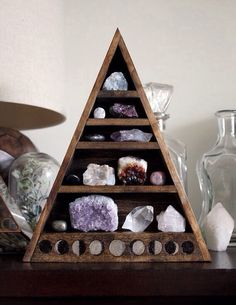 Crystal and gemstone collection