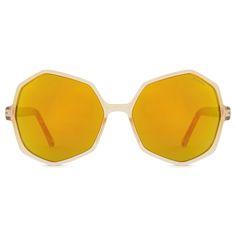 KOMONO Bonnie Sunglasses in Pearl Tortoise