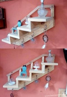 Unbelievable Break Down a Pallet The Easy Way Ideas. Staggering Break Down a Pallet The Easy Way Ideas. Wooden Pallet Shelves, Diy Pallet Sofa, Diy Pallet Furniture, Diy Pallet Projects, Wooden Pallets, Wood Shelves, Wooden Diy, Wood Furniture, Woodworking Projects