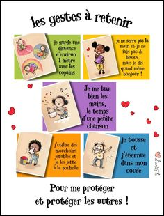 The illustrations are from Coeur D'artiflo. Autism Education, Education Positive, Education Quotes, Handmade Home, French Classroom, Preschool Graduation, How To Speak French, Social Stories, Teaching French