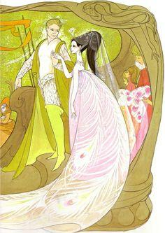 çizgili masallar: Beauty and the Beast by Hilary Knight