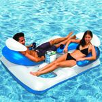 Poolmaster Arctic Chill Double Lounger with Ice Bag