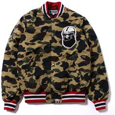BAPE Camoflauge Jacket 4657fddf6241