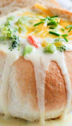 Panera-Copycat Broccoli Cheddar Soup