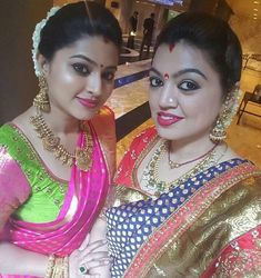 Senha and Sangeeta in Traditional jewellery | FashionWorldHub.com