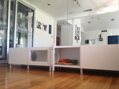 Love the idea of integrating the hutch into your room. Looks a bit small though!