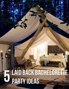 5 Laid Back Bachelorette Party Ideas