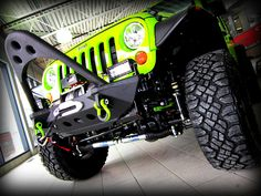 SOLD: Tricked out 2012 Jeep Wrangler Gecko - Image courtesy: Derrick Dodge Chrysler Jeep Ram in Edmonton, Alberta
