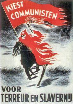 het ontstaan van de Koude Oorlog propaganda