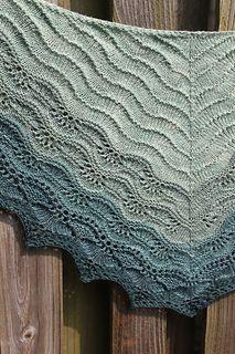 Brush Creek , mac-attack's Brush Creek , mac-attack's Brush Creek , Old Shale Shawl Knitting pattern by Amanda (Shuttermonkey) Crochet Shawl Free, Knit Or Crochet, Knitted Shawls, Lace Knitting, Knitting Stitches, Knitting Patterns Free, Free Pattern, Crochet Vests, Lace Shawls