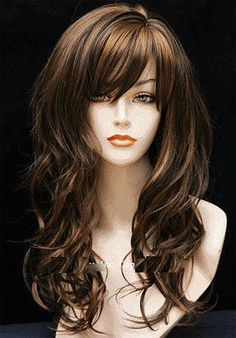 In the world of hair, there are many hairstyles that can be worn by a wide variety of hair types. Those who have long, curly hair can really try out some interesting styles with their beautiful loc… Pretty Hairstyles, Wig Hairstyles, Medieval Hairstyles, Bangs Hairstyle, Makeup Hairstyle, Style Hairstyle, Hairstyle Ideas, Great Hair, Synthetic Hair