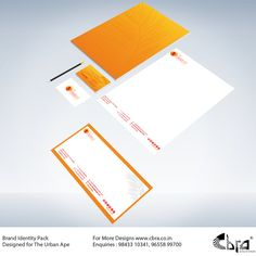 Brand Identity Pack Designed for The Urban Ape. Brand Identity Pack, Co Design, Cards Against Humanity, Urban, Brand Identity Design