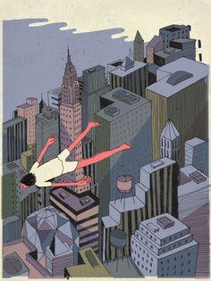 NYC. Flying over Manhattan // Josh Cochran