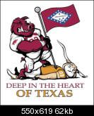 Arkansas Razorback Cartoons | Re: Deep In The Heart of Texas Cartoon