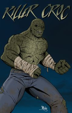 Killer Croc by MikeMahle on deviantART