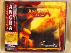 CD/Japan- ANGRA Fireworks +1 bonus trk w/OBI RARE ORIGINAL w/STICKERS VICP-60432 #PowerProgressiveMetalMelodicHeavyMetal
