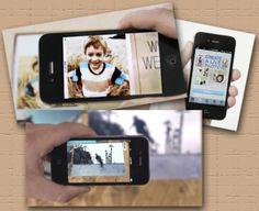 HP Live Photo   Mensagens animadas | High-tech girl