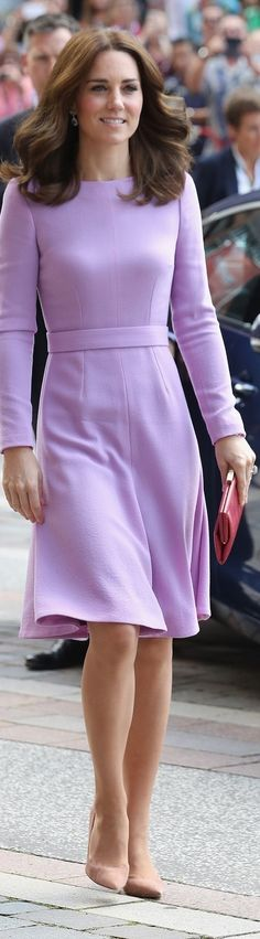 Duchess Catherine in Emilia Wickstead, July 2017