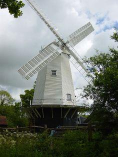 Jonathan Creek's Windmill, Shipley, West Sussex, England