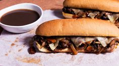 Braised oxtail, caramelized onions and Havarti cheese make for an out-of-this-world French dip sandwich.