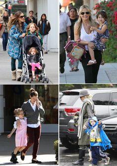 5 Celebrity Moms Who Do The School Run - Even Celebs take their kiddos to school !