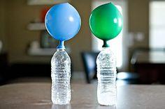 6простых научных опытов для детской вечеринки