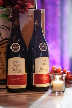 Chateau Grand Traverse at the WOMP Wine Dinner at Grand Traverse Resort and Spa.